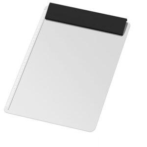 GEMACO Schreibplatte DIN A4 mit grosser Klemmleiste in schwarz