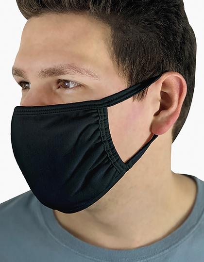 Premiumtex Mund-und-Nasenmaske 100% Baumwolle OEKO Tex Standard 100
