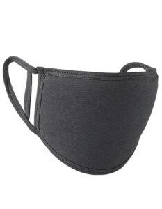 Premiumtex Mund-Nasen-Maske flex 5-er Pack grau