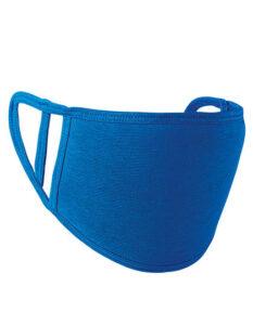 Premiumtex Mund-Nasen-Maske flex 5-er Pack royalblau