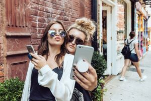 Popsockets zum texten und für Selfies