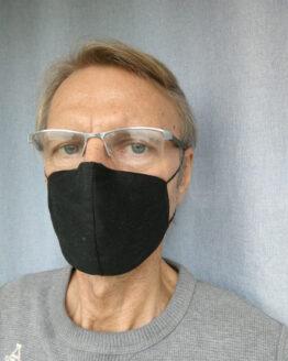 Gemaco Mundnasenmaske Baumwolle adjust Nasenbügel