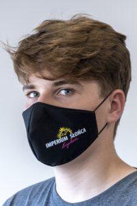 armada Mund-Nasen-Maske im Bogendesign