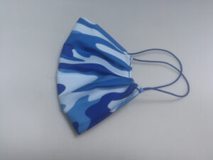 armada Mund-Nasen-Maske Camouflage protect blau