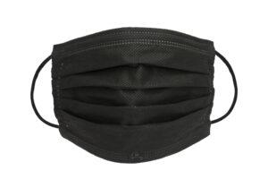 medizinische OP-Maske schwarz