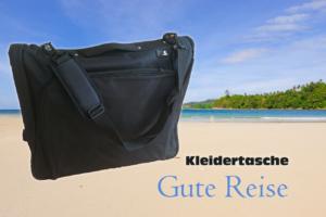 """JONEZ Anzugtasche Kleidertasche """"business"""" in schwarz"""