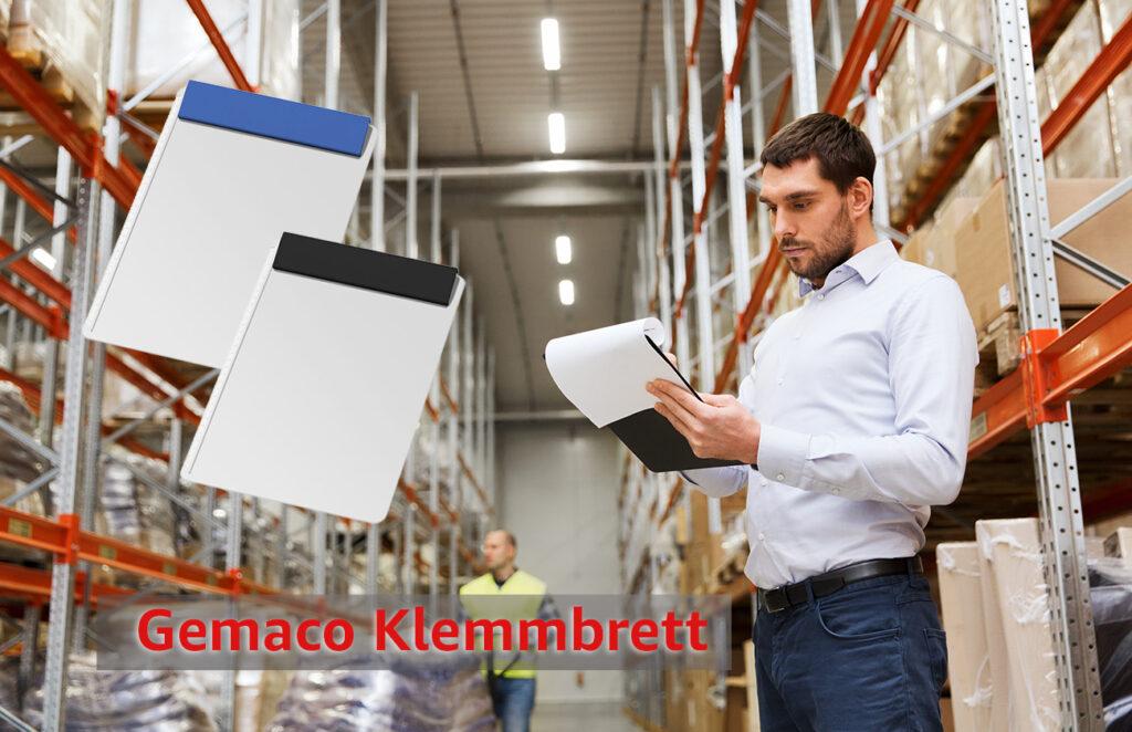 GEMACO Klemmbrett DIN A4 mit Logodruck